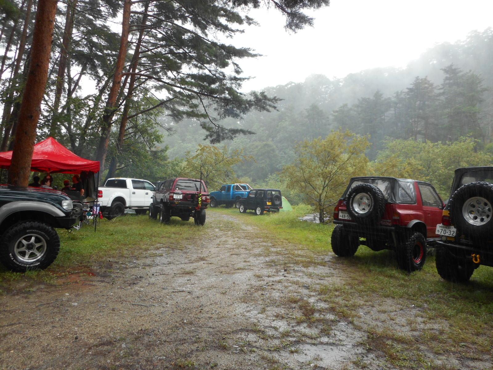 御座松キャンプ場へ行ってきました