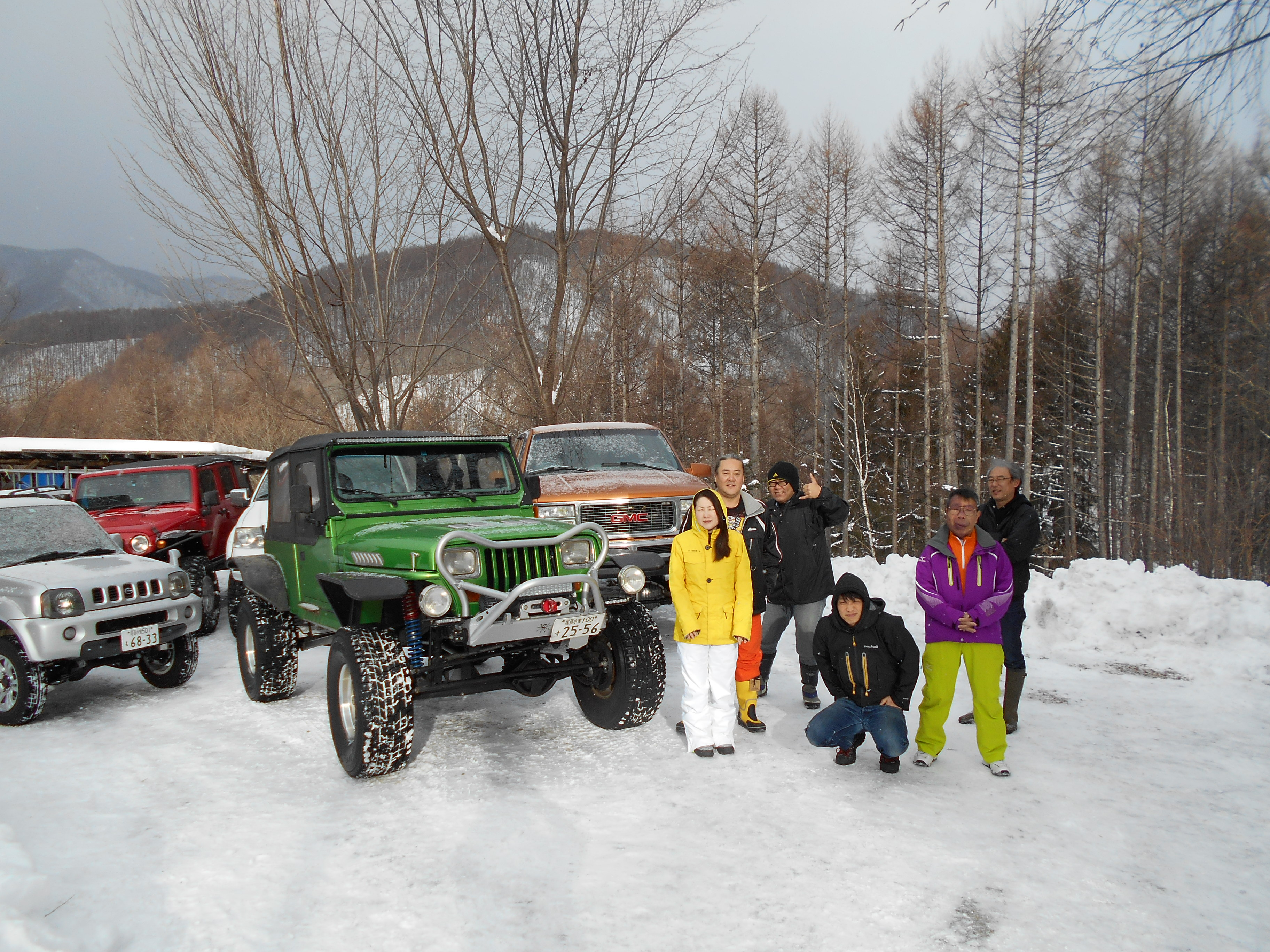 野麦峠へスキー&スノーアタック
